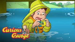 Fishing for Trash 🐵 Curious George 🐵Kids Cartoon 🐵 Kids Movies 🐵Videos for Kids