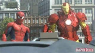 [พากย์ลาว] Spider-Man, Iron Man and the Hulk