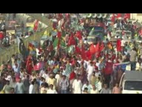 Thousands protest in Karachi in suport of Kashmir