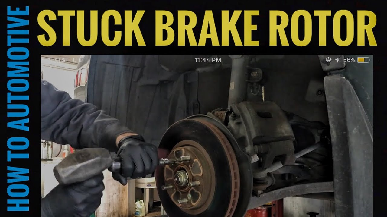 How To Remove Honda And Acura Brake Rotors Youtube 2005 Mdx Engine Diagram