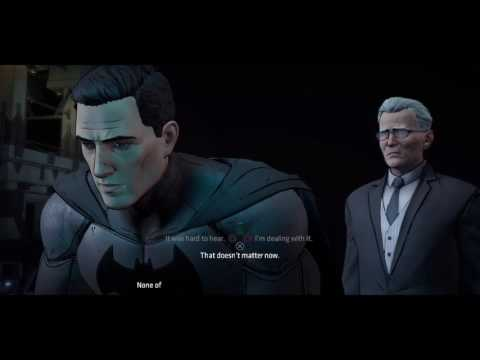 Batman: The Telltale Series Episode 2 Finale The Birth of Two-Face