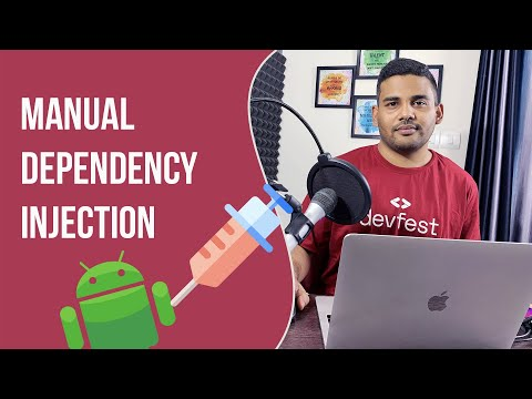 Android Dependency Injection - Manually Injecting Dependencies