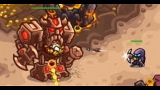 Kingdom Rush Vengeance - Bolgurs Throne - Veteran 3 Stars