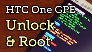 Unlock the Bootloader, Install a Custom Recovery, & Root a Google Play Edition HTC One [How-To]