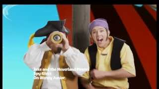 jake and the never land pirates   spy glass music video   disney junior uk