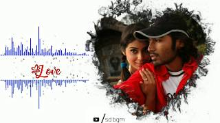 Dhanush love BGM - ringtone | Thiruvilayadal arambam BGM | whatsapp status | download now👇