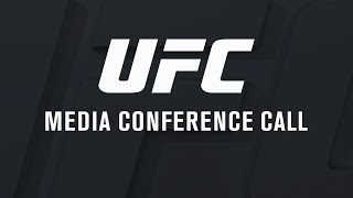 UFC 214: Cormier vs Jones 2 - Media Conference Call