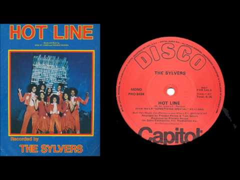The sylvers - Hot line (1976) (LP)