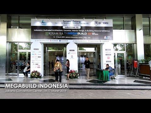 Megabuild Indonesia, JCC, 14 - 17 Maret 2019