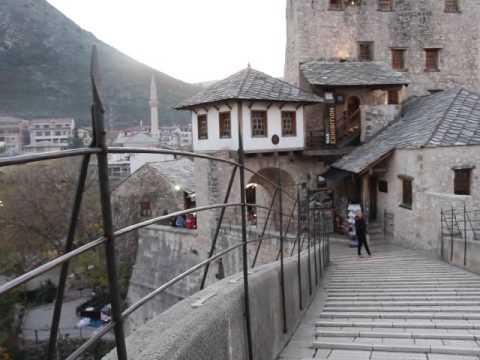 Beautiful Azan (Call to Prayer) at Mostar Bridge Bosnia