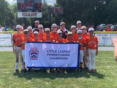 Watch: East Pennsboro Little League celebrates Pa  State Tournament title