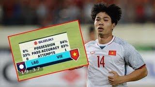 Bản tin BongDa ngày 9.11 - Cầm bóng 94%, ĐT Việt Nam lên ngôi số 1 bảng A