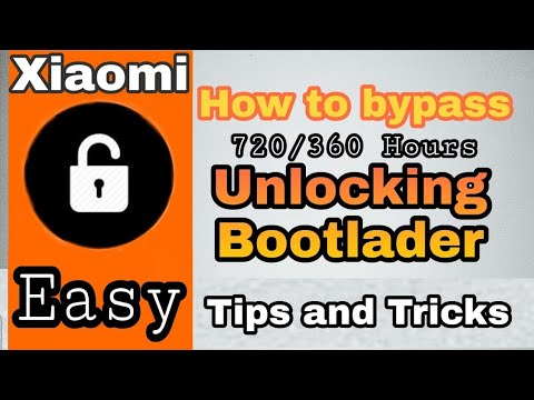[ Tips ] Removing 720 Hours || 360 Hours || ByPass Wait Time for Unlocking  Bootloader