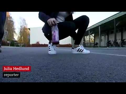 Swedish News about Bottle flipping