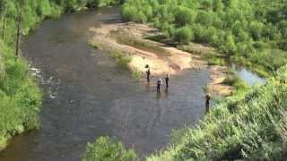 Fishing in Mongolia - Zagaschlal