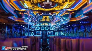 ชมแสงสีเสียง การตกแต่งภายในรถบัสณัฐพลกรุ๊ป (Ep.1) Amazing BusThai