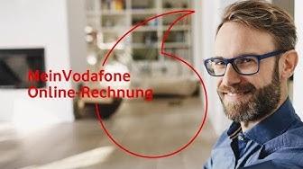 MeinVodafone - Online-Rechnung  | #servicehilfe
