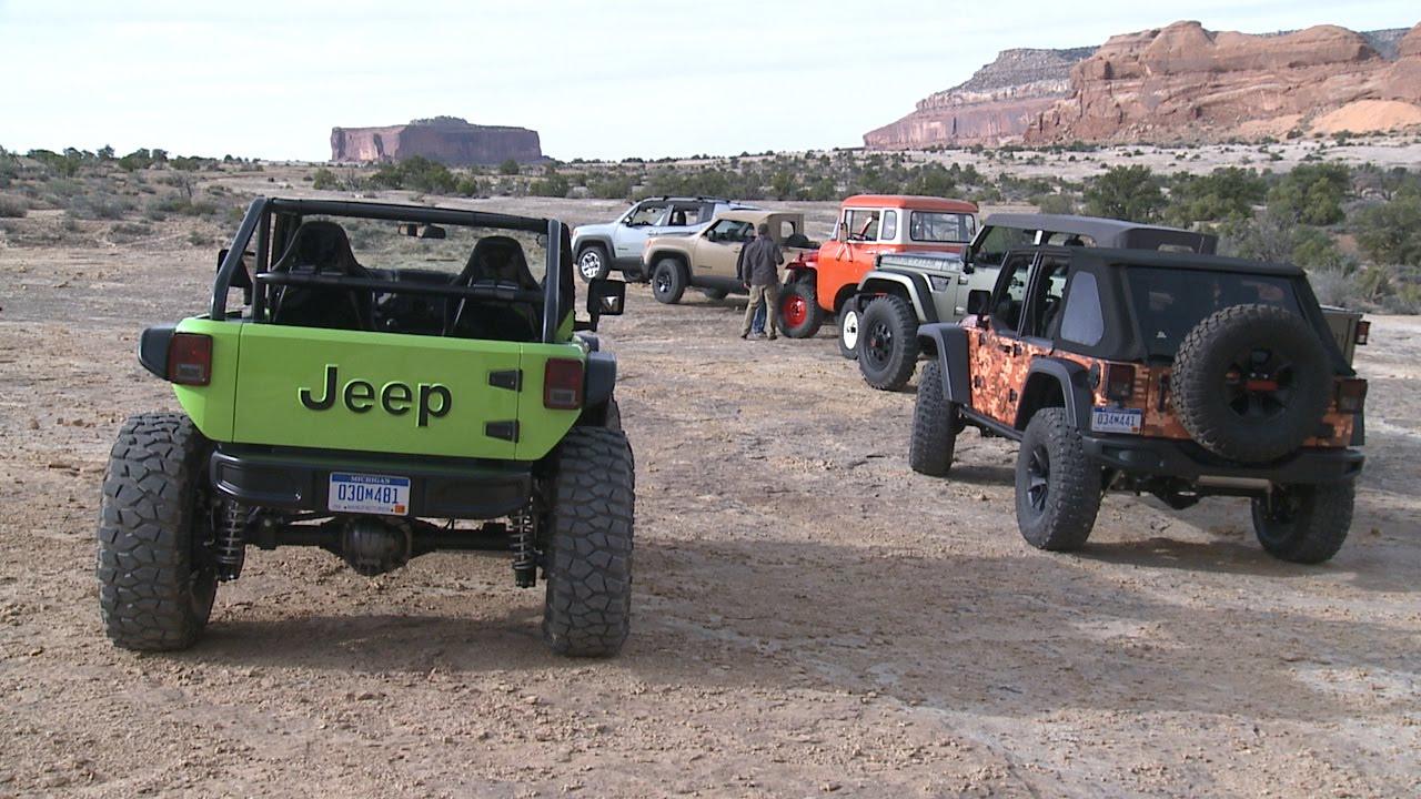 Moab Easter Jeep Safari 2016 - Running Footage - YouTube