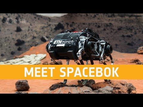 Робот научился прыгать по поверхности Луны (2 фото + 2 видео)