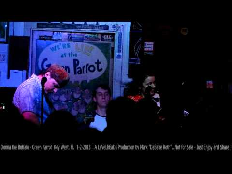 Donna the Buffalo Full Show - Green Parrot  Key West, Fl.  1-2-2013