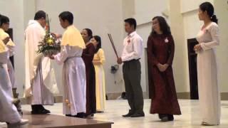 Giáo xứ Phú Trung - Lễ vật dâng hiến, 20/11/2013.