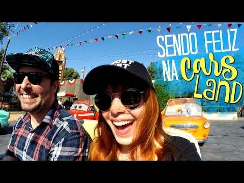 DISNEY CALIFORNIA ADVENTURE (Dia 1, Pt.2): Musical do FROZEN + CARS LAND!