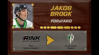 Jakob Brook - CSSHL to WHL | Stand Out Sports Client Hall of Fame