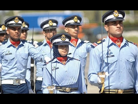 Tremendous parade by PAF cadets in Risalpur - PAF Passing Out Parade