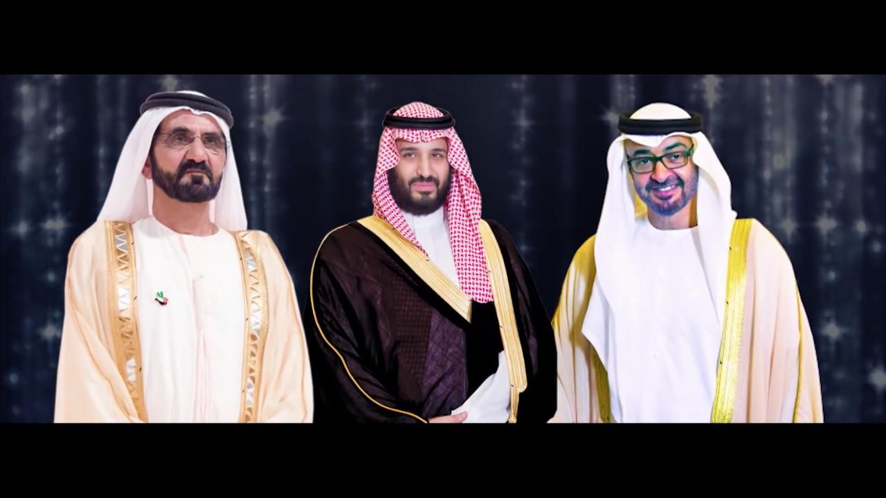 راشد الماجد و عيضه المنهالي- بن زايد وبن سلمان (حصرياً) | 2018