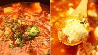 Korean Food : Soondubu Jjigae : Spicy Soft Tofu Stew (순두부 찌개) - Coocossimplycooking