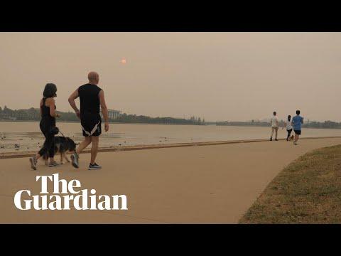 Bushfire smoke continues to cover Australian cities — video