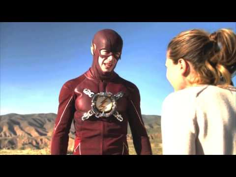 The Flash and Supergirl Crossover Funny moments/Humor