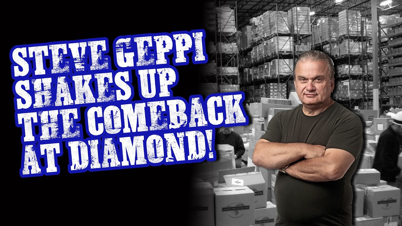 Geppi Shakes Up the DIAMOND Comeback, Returns as President