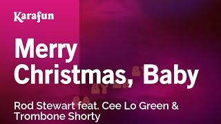 Karaoke Merry Christmas, Baby - Rod Stewart *