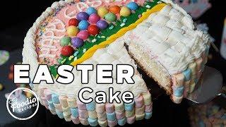 Easter Cake Recipe  Amazing Easter Cakes  Cake Decorating Ideas  #EasterCake  Foodio Recipes