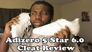 Video Adizero 5 star 6.0 Cleat | Eastbay.com Football Cleat Unboxing & Review download MP3, 3GP, MP4, WEBM, AVI, FLV Agustus 2018