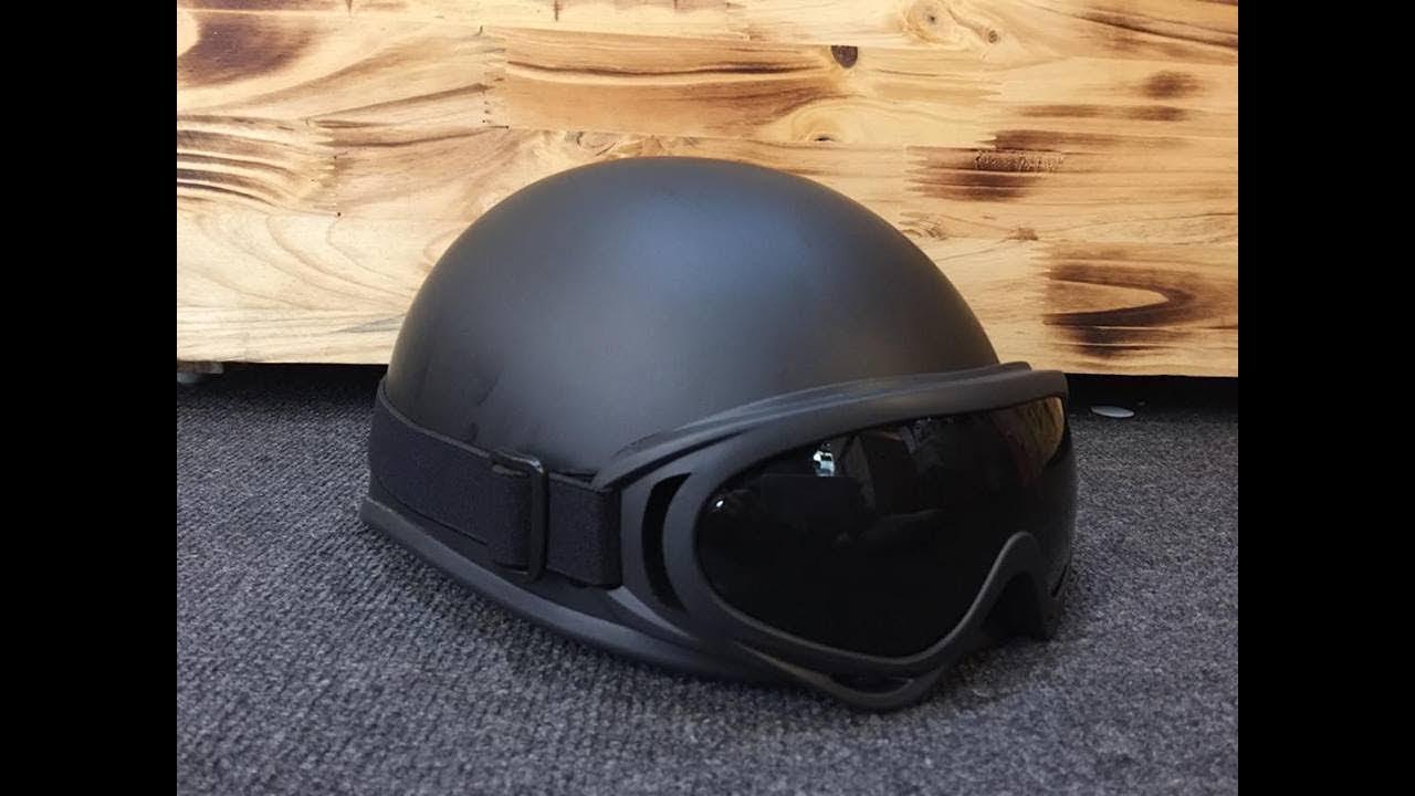 Có Nên Mua Mũ Bảo Hiểm Trên Lazada | Mũ Bảo Hiểm Phượt 1/2 Đầu Kính UV | Tổng quát những thông tin liên quan mũ bảo hiểm thời trang nam chính xác