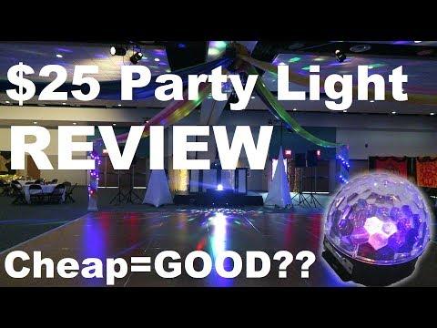 $25 Party Light Review   Best Beginner Light?