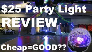 $25 Party Light Review | Best Beginner Light?