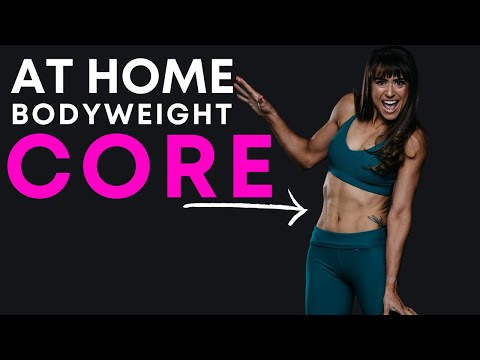 4 At Home Bodyweight Core Exercises