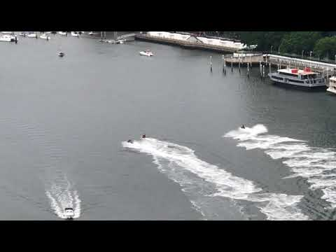 Water Jet Ski Stunts in Queensland River Near Brisbane!!!