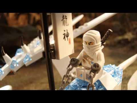 "LEGO NinjaGo  ""Turbo Shredder vs Ice Dragon"" commercial"