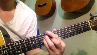 Kirk Franklin - Hide Me (Guitar Tutorial)