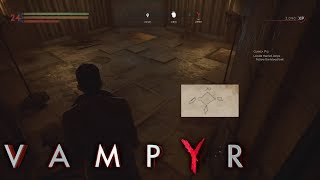 Vampyr - How to open the vault at the Temple Church