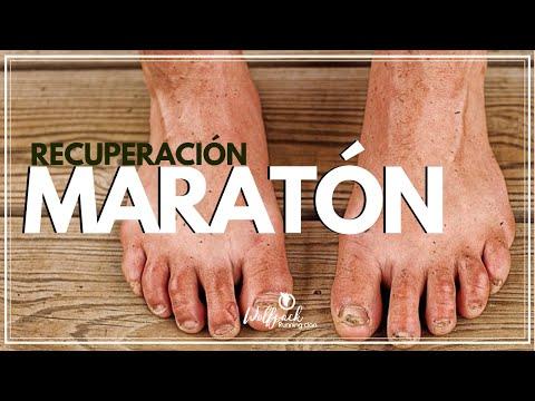 recuperarse de una maraton