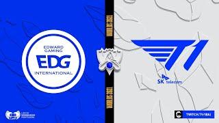 EDWARD GAMING VS T1 | WORLDS 2021 | LEAGUE OF LEGENDS | FASE DE GRUPOS - DÍA 5