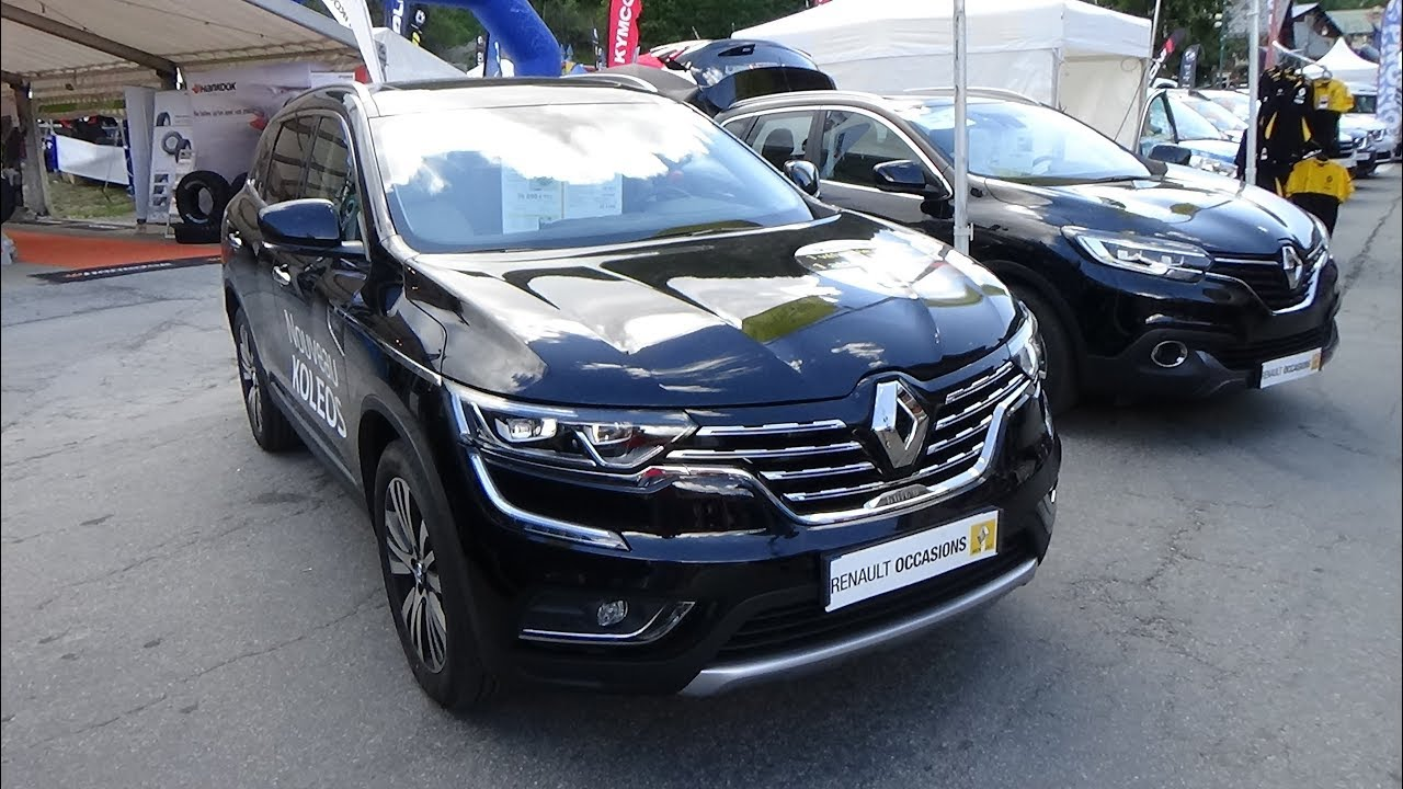 2017 renault koleos initiale paris exterior and interior. Black Bedroom Furniture Sets. Home Design Ideas