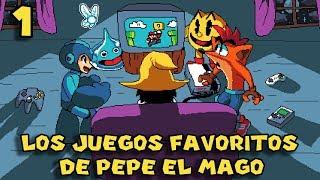 10 Videojuegos Favoritos de Pepe el Mago - Especial 500,000 Suscriptores !! (PARTE 1)