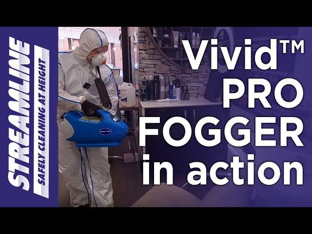 Vivid™PRO FOGGER (battery  version) in action