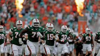Miami Hurricanes' 2018 football schedule at a glance